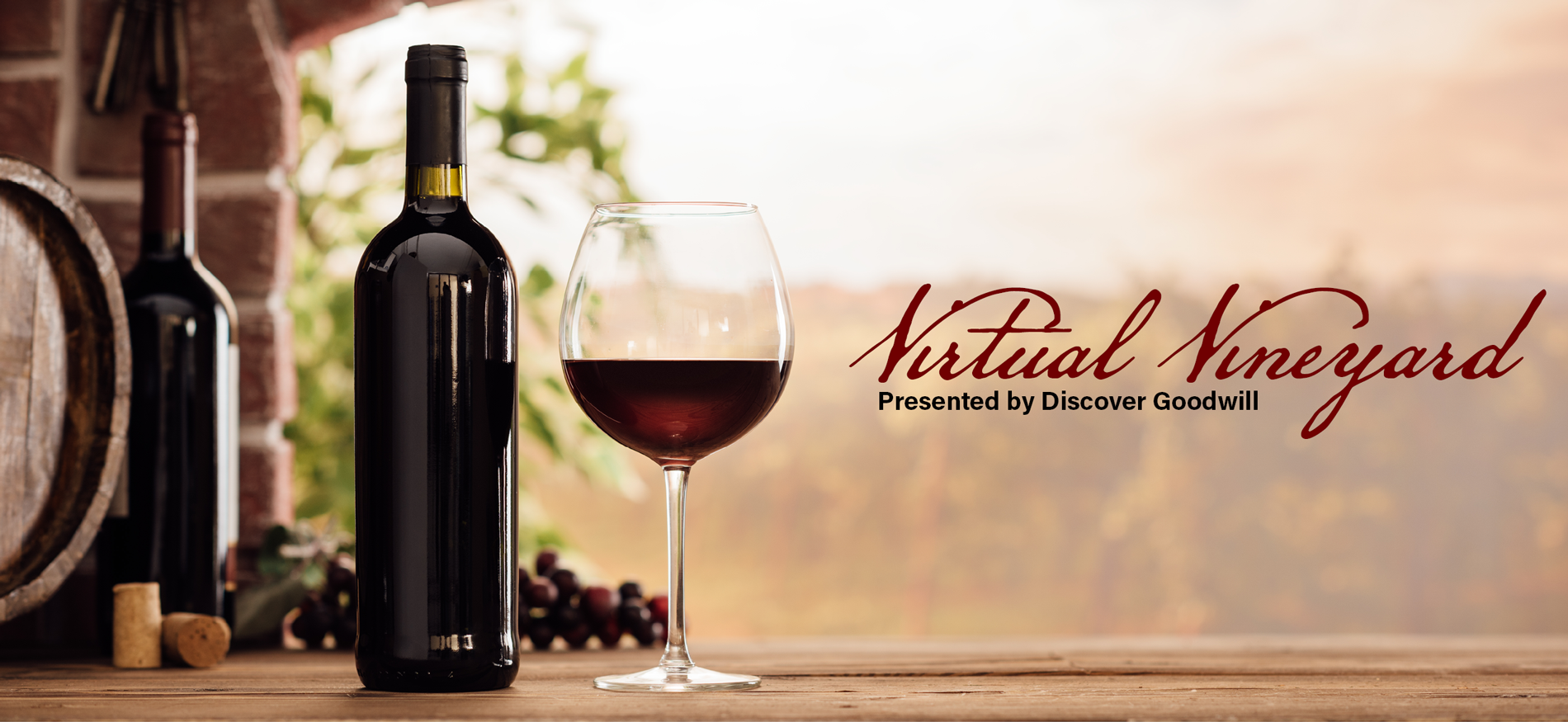 Virtual Vineyard presented by Discover Goodwill
