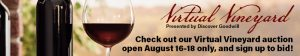 Virtual Vineyard Sign up now!